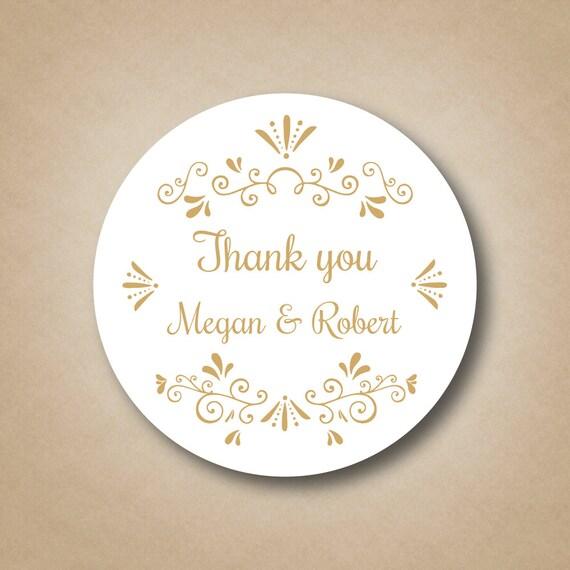 ... Custom Gold Foil Stickers Fresh A Sweet Ending to A New Beginning  Wedding Favor Stickers Custom ...