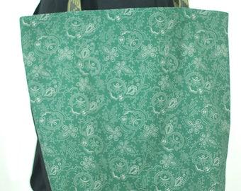 Extra-Large Green Shopping Bag