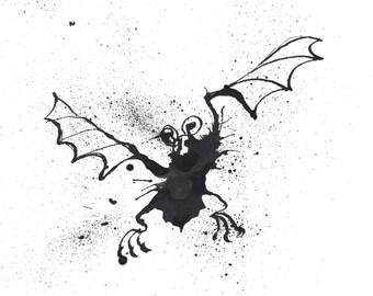 Twinkle, Twinkle Little Bat - Art Print