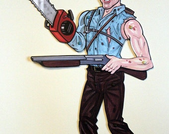 Ash Articulated Paper Doll