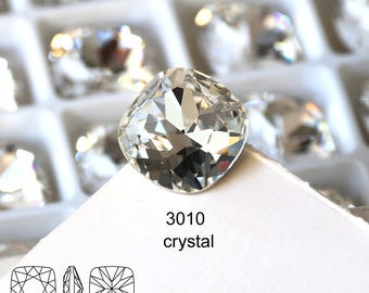 8*8MM 10*10MM 12*12MM 14*14MM 16*16MM 18*18MM clear crystal fancy stone jewelry pendant