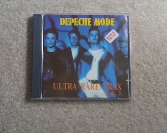 Depeche Mode(CD) - Ultra Rare Trax Vol. 2 (Import/Remix/Bootleg CD/clean copy/A Question Of Lust/Behind The Wheel/Just Can't Get Enough)