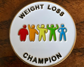 Weight Loss Surgery Challenge Coin/Anchor