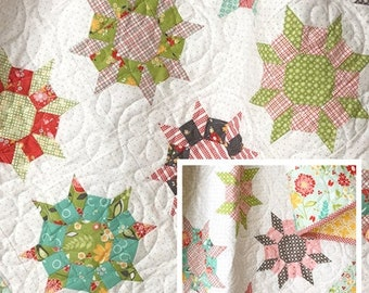 """Trinkets by Margot Languedoc Designs for the Pattern Basket - Pattern No. TPB 1808, measures approx. 49"""" x 58"""""""