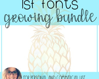 LSF FONTS - The Growing Bundle