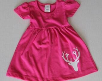 Little Girl Deer Dress