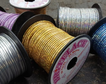Britelace Rexlace Spools - Multiple Colors - 50 yard (150 feet) of Plastic Lace