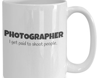 Photographer - I get paid to shoot people