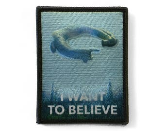 I Want To Believe, in Engineers Patch
