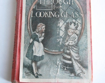 Antique Book, Through the Looking-Glass