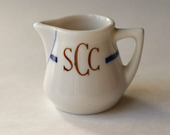 Creamer from the St. Claire Club in San Jose, Ca, Vintage