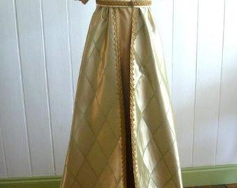 Napoleonic inspired Dress & Robe with train.