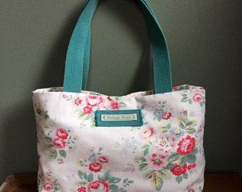 Cath Kidston rose floral print carry bag