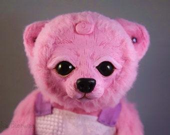 Jewel the Bear - Whiteleaf Village Jointed Art Doll