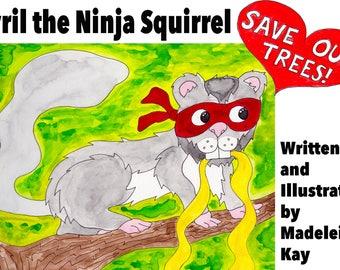 Cyril theNinja Squirrel