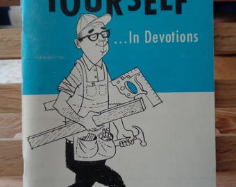 Vintage book Do It Yourself ... In Devotions  seven day study guide to help personal devotions religious foreword Billy Graham 425 (X)