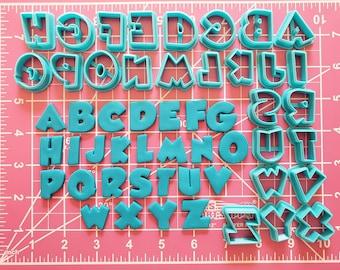 Paw Patrol Letters Cookie Fondant Cutter Set - Large Sizes!