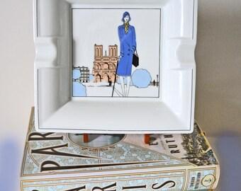 Jacques Lobjoy Art Deco Cigar Ashtray