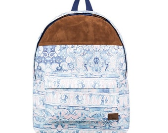 Roxy Sugar Baby Soul 16, back pack, blue and suede