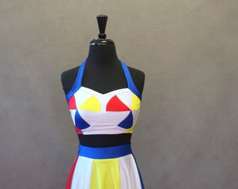 MADE TO ORDER Katy Perry at the Superbowl Inspired *Beach Ball Top Only*