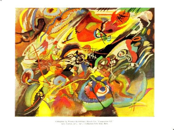 Kandinsky Sketch For Composition Vii