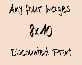 Photography: Four (4) 8X10 photographs of your choice, travel photo, Decoration Nursery, Photo nature, Shabby Chic