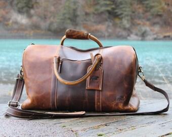 Buffalo Leather Duffel 30L