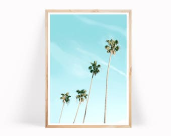 Palm Tree Art, Tropical Print, Beach Print, Palm Tree Print,  Palm Tree Photo, Tropical Wall Art, Palm Print, Palm Leaf Print, Tropical Art