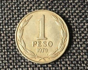 1979 Chile 1 peso
