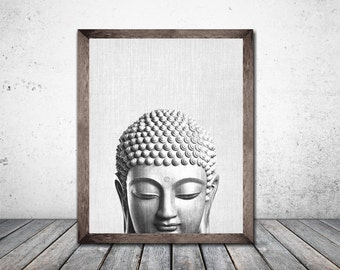 Buddha Art Buddha Prints Wall Art Prints Buddha Poster Boho Decor