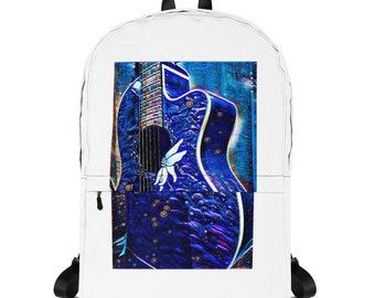 Blue Guitar Backpack