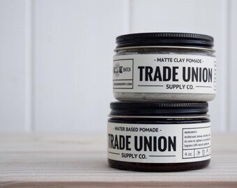 Water Based and Matte Clay Pomade Pack