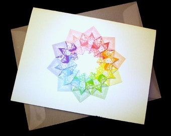 Origami Card for Baby