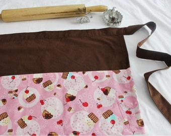 Tossed Cupcakes Adult Apron