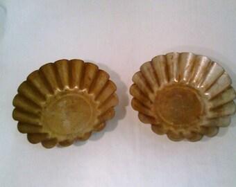 2 small Tart Pan molds