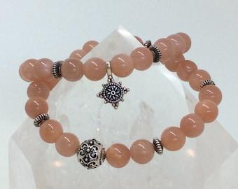 Sunstone Gemstone Bracelet