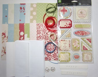 Cardmaking Kit for Ten Complete Cards