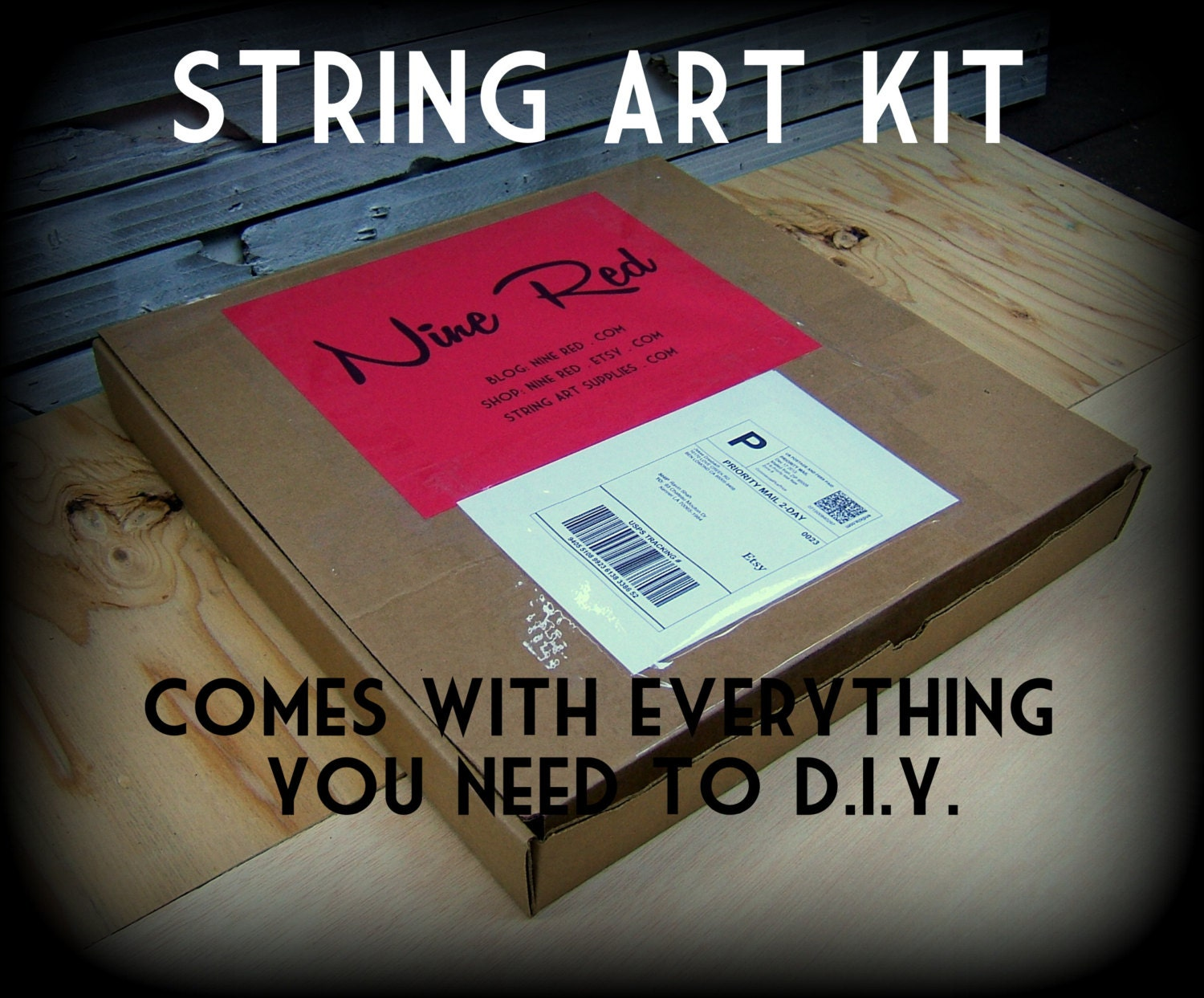 Pick A Pattern Kit Diy String Art All Supplies Included