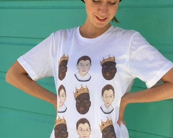 Notorious BIG and RBG Super Soft Unisex Adult Tshirt