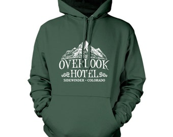 The overlook hotel hoodie hoody  inspired by the movie the shining