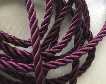 Purple Mini Rope Fringe - Decorative Trim 1115