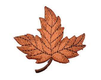 Autumn Leaf Applique Patch (Iron on)