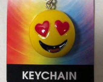 Emoji Key Chain - Love Emoji Key Chain - Heavy
