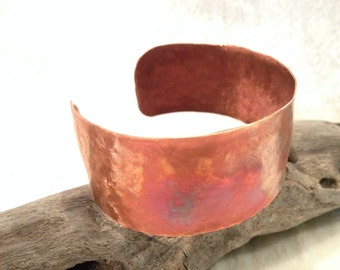 Forged Sunset Copper Cuff