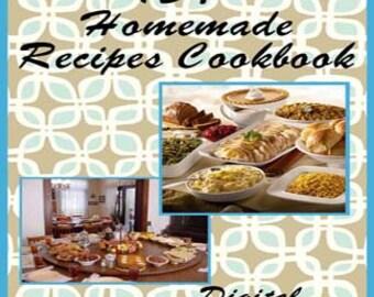 154 Homemade Recipes E-Book Cookbook Digital Download