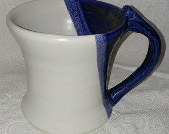 Hand thrown pottery mug
