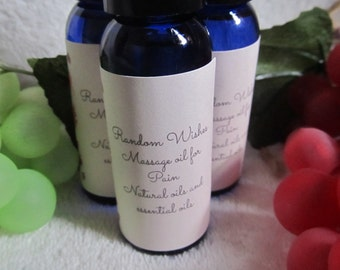 Pain relieving oil, natural pain reliever, massage oil, back pain, knee pain, arthritus pain