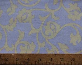 1/2 Yard - Fall House Pool Lilac - Annette Tatum - Free Spirit, Quilting Cotton, Fabric Sale
