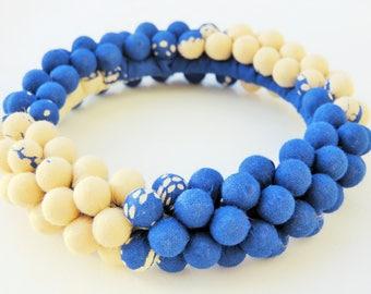 ethnic cuff bracelet, textile bracelet, textile jewelry, boho style, handmade gift for her, cotton fabric bracelet, most popular item