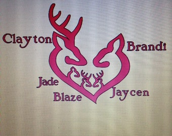 Browning Family Name Decals!